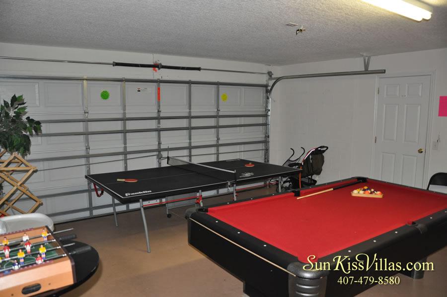 Treasure Cove - Disney Vacation Rental Solana - Game Room
