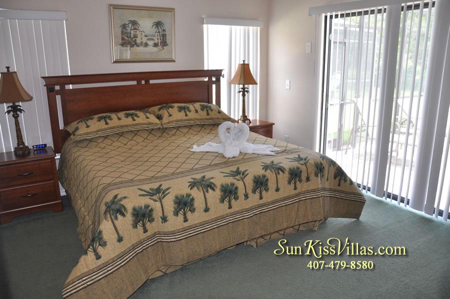 Disney Villa Rental - Tuscan Sun - Master Bedroom