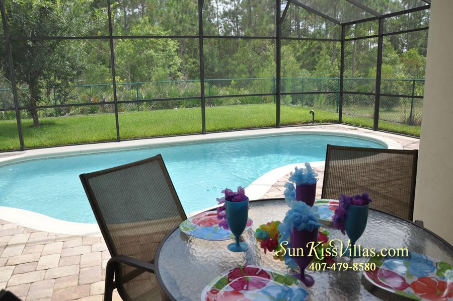 Disney Villa Rental - Tuscan Sun - Pool and Covered Lanai