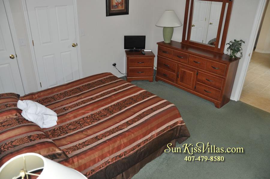 Disney Villa Rental - Tuscan Sun - Bedroom