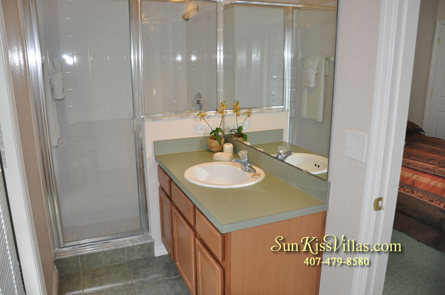 Disney Villa Rental - Tuscan Sun - Bathroom