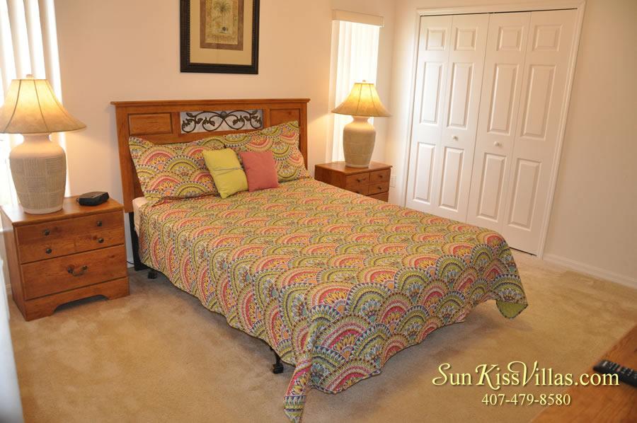 Vacation Villa Rental Near Disney - Emerald Cove - Bedroom