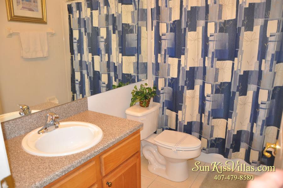 Vacation Villa Rental Near Disney - Emerald Cove - Bathroom