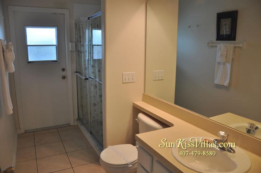 Disney Villa Rental - Heron Bay - Bathroom