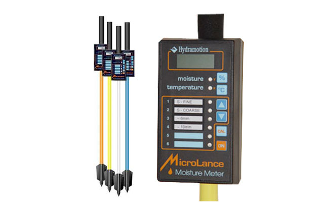 Microlance Instant Moisture & Temperature Tester