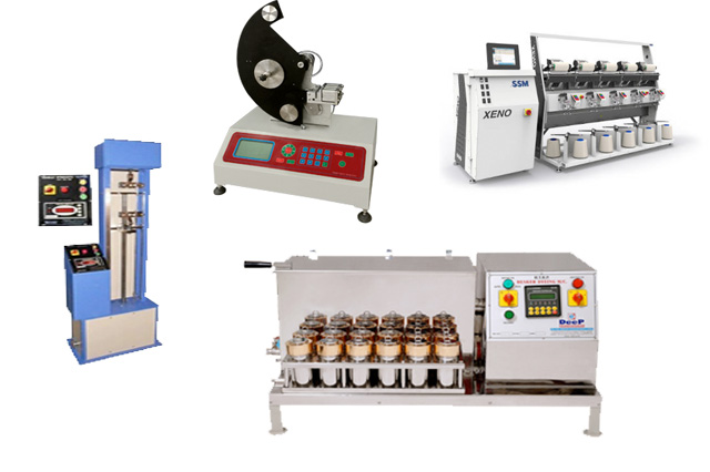 Textile engineering lab equipments