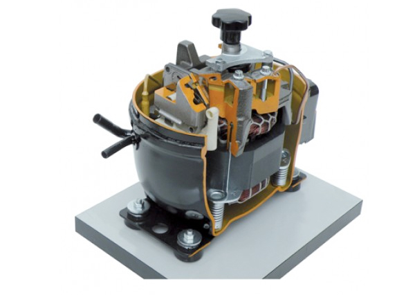 table top refrigeration test bench