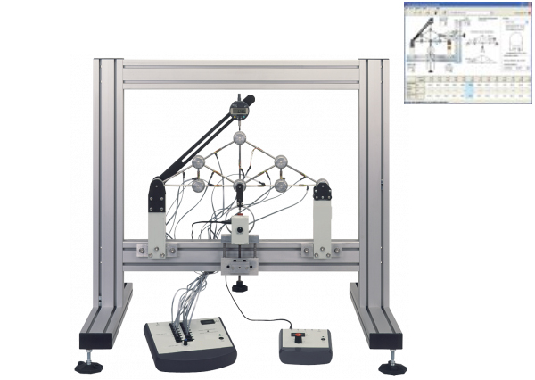Pin Join Truss Apparatus Data Acquisition