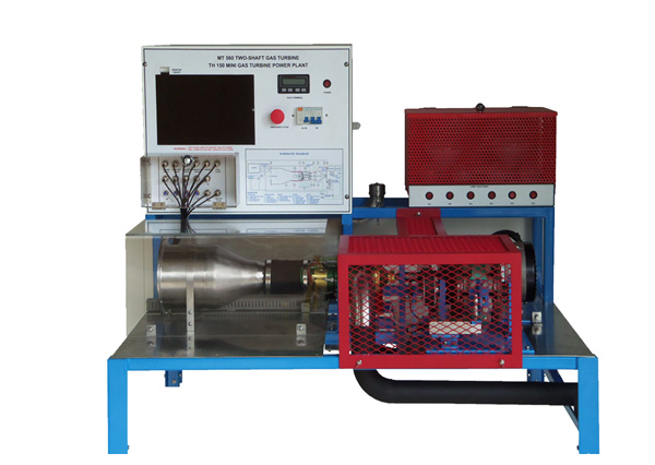 Two Shaft Gas Turbine Test Bench