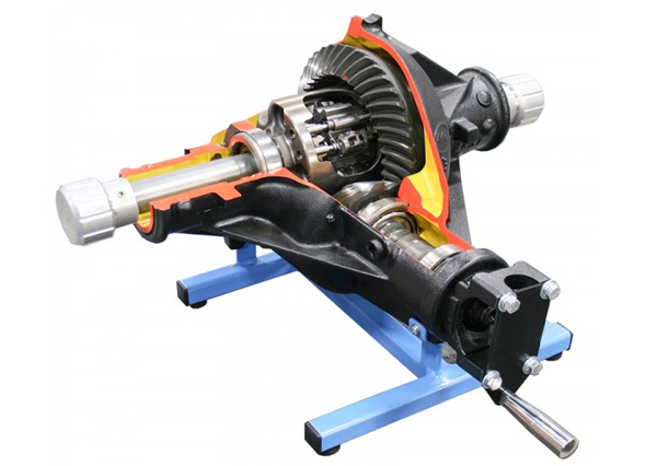 Working Model Of Clutch Type Differential