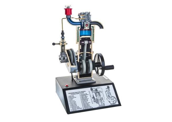 Four Stroke Diesel Engine Model