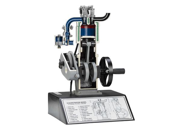 Four Stroke Petrol Engine Model