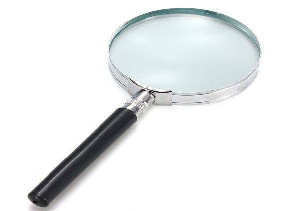Hand Held Magnifying Lens