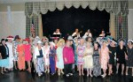 Hats off to the ladies of the Cotillion Dance Club attending the Mint Julep Ball!