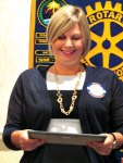 Sun Lakes Rotary Teacher for the Month of March Allison Davis