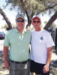 The team of Rick Herzog and Bill Townsend won the bocce ball team single elimination tournament.