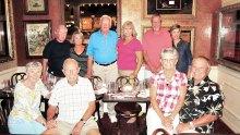 Pictured (left to right) back row: Bruce Garman, Susan Garman, Joe Tighe, Bernie Tighe, Len Vogelaar and Linda Vogelaar; front row: Jean Aplin, Dick Aplin, Cinda Sue Thorhauer and Paul Thorhauer.