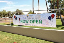 The new Sun Lakes Country Club Lounge and Pro Shop