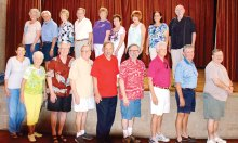 """The cast of """"An Evening of Old Time Radio"""""""
