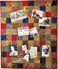 Our Greatest Generation quilt by Anne Munoz