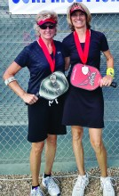 Sheila Parkinson and Dianne Zimmerman - 4.5 Silver Medalists