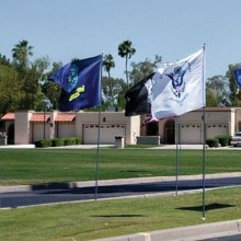 Sun Lakes communities proudly display our American flag!