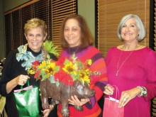 Three excited raffle prize winners were at the last WE meeting: Sue Reynhout, Mara Bedner and Kathryn Pierce.