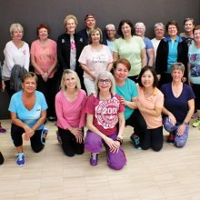 Take a Zumba class with Mary!