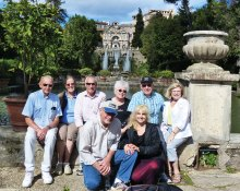 Sun Lakers enjoying Tivoli, Italy this summer
