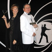 Judie and James Janowski - armed and ready to live and let dance!