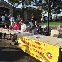 Annual golf tournament sponsored by East Valley Marines, Detachment 1296