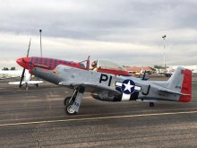 Mike Still will describe his experience building this 3/4-scale P-51 fighter plane during a presentation to the Sun Lakes Aero Club gathering Monday, March 20.