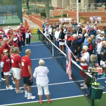 The first CanAm Tournament of the Cottonwood Tennis Club was held on January 22, 2017.