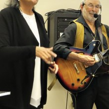 "Mary Burke and Rod Hayward demonstrated various styles of music as part of their ""Music Inside Out"" series during New Adventures' spring semester."