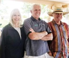 Hike Leader awardees Liz Morque, Jerry Anderson and Mike Josephson