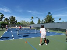 Pickleball at IronOaks