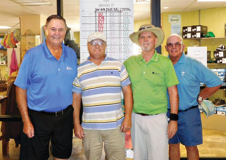 IMGA and Sun Lakes 1 Home and Home Champions Ed Norris, Joe Rizzi, Chris Bell and Jon Kelley
