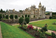 Jim Anderson's photo of Abbotsford, the grand estate home of Sir Walter Scott, author of Ivanhoe and Rob Roy