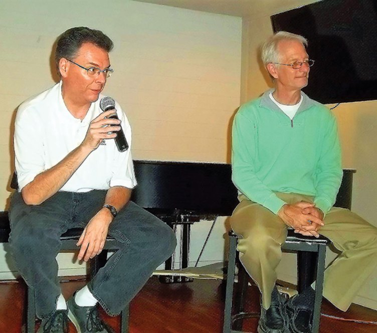 Speakers Keith Wheeler and Richard Clennon