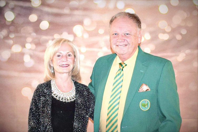 Ken and Glenda Roberts are shown entering last April's Set the Night to Music Gala.