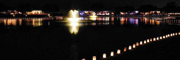 Diamond Lake Luminaria Walk