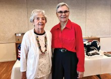 Thanks to retiring leaders Jeanne Schwan and Sharon Flores