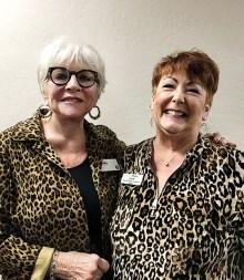 Sandy Pallett, Instructor, and Carol White, SLCC Coordinator