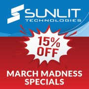 Sunlit March Madness Specials Blog