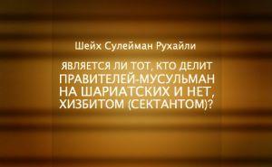 sheykh-suleyman-ruhayli-yavlyaetsya-li-tot-kto-delit-praviteley-musulman-na-shariatskih-i-net-hizbit