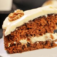 Glutenfri gulrotkake uten sukker og egg