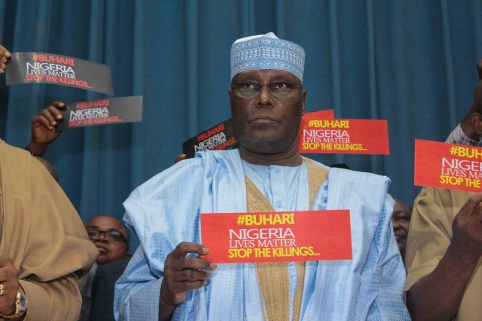 Image result for Why Atiku Can't Restructure Nigeria - Ex-Senate President