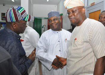 Image result for Fayose, Olujimi, Inaugurate Parallel Campaign Councils For Atiku/obi