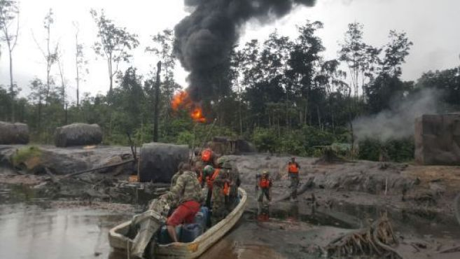 Two suspected oil bunkerers killed, 5 injured in Nembe Trunkline ...