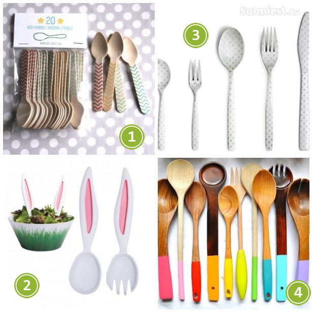 4THINGS - spoons by sunniest